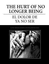 the hurt of no longer being - Utopian