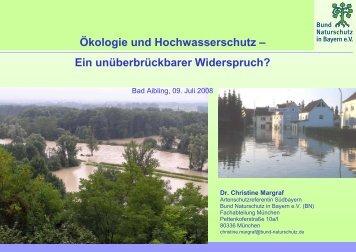 Ökologie und Hochwasserschutz - Bayern
