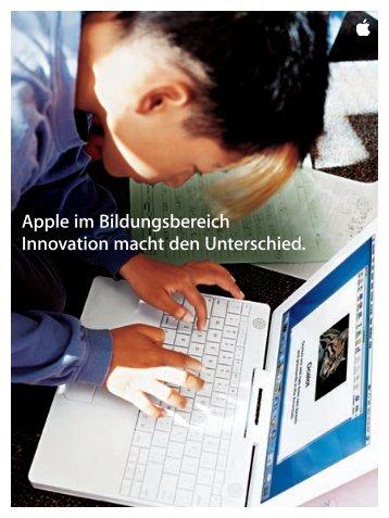 Warum Apple. - Die Zeit