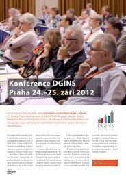 Konference DGINS Praha 24.–25. září 2012 - Český statistický úřad