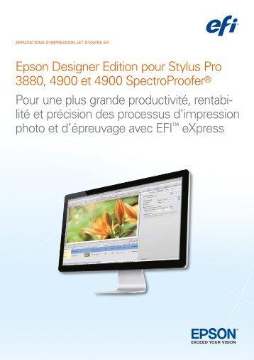 Epson 3880 designer edition vs standard edition