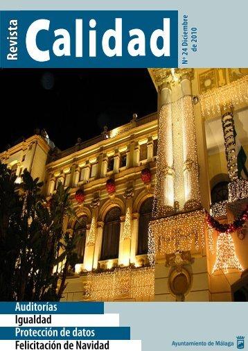 Revista - Calidad - Ayuntamiento de Málaga