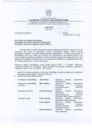 Pastāvīgās nekustamo īpašumu iznomāšanas komisijas ... - Valmiera