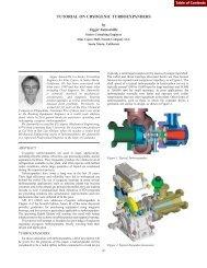 tutorial on cryogenic turboexpanders - Turbomachinery Laboratory ...