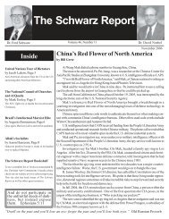 November, 2006 - The Schwarz Report