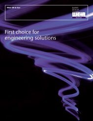 First choice for engineering solutions - Weir Oil & Gas Division