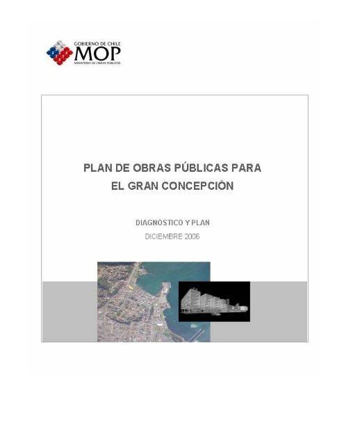Plan De Obras Públicas Para El Gran Concepción Dirección