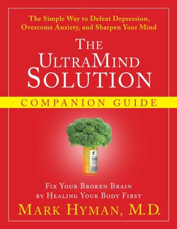 UltraMind Solution Companion Guide - Dr. Mark Hyman