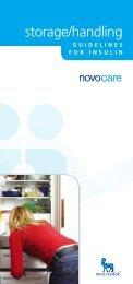 storage/handling - Novo Nordisk Australasia