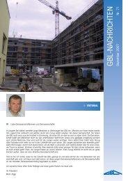 GBL-Nachrichten Nr. 71, Dezember 2007