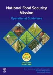 Operational Guidelines cover - NFSM, Bihar