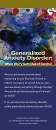 Generalized Anxiety Disorder (GAD) - NIMH - National Institutes of ...