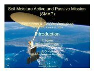 Introduction/Mission Science - SMAP - NASA