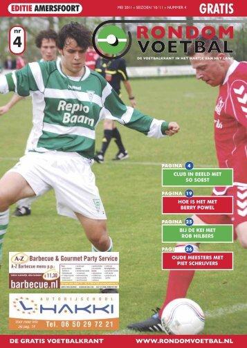 Seizoen 2010/2011 nummer 4 - Rondom Voetbal