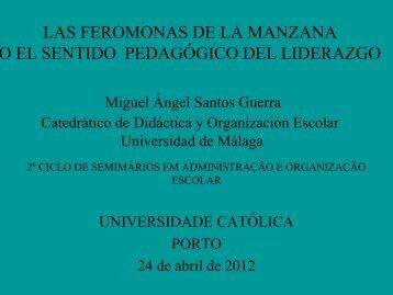 enseñar o el oficio de aprender - Universidade Católica Portuguesa