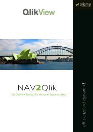 Die QlikView Toolbox für Microsoft Dynamics NAV - Prisma Informatik