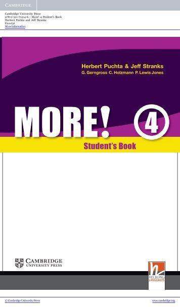 Student's Book - Assets - Cambridge - Cambridge University Press
