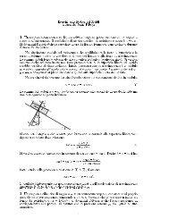 Esercizi sulla Statica dei Fluidi A cura del Prof. T.papa 1. Un ...