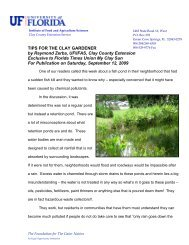 Sep 12- FTU-My Clay Sun-Fish Kill and Retention Ponds
