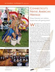 connecticut's native american heritage - Leisure Group Travel