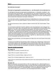 Bilag 3 103 Brandtekniske eksempler Eksempler ... - Erhvervsstyrelsen