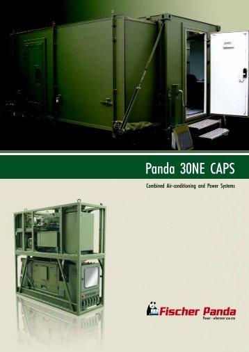 Panda 30NE CAPS - Fischer Panda