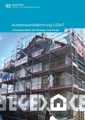 Aussenwanddämmung LIGHT - Schweizer Baumuster-Centrale Zürich