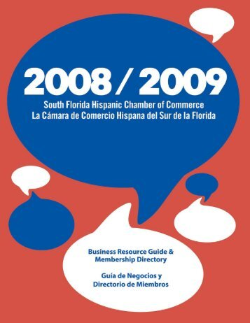 Newsletter 1 - South Florida Hispanic Chamber of Commerce