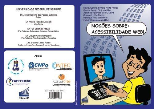 Noções sobre acessibilidade web. - Ufs