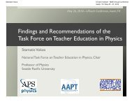 Findings and Recommendations of the Task Force on Teacher ...
