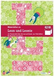 """""""Materialien zu Leon und Leonie"""" [PDF-Datei - 3 MB] - GRIPS Theater"""