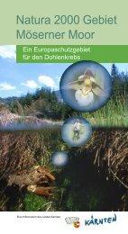 Natura 2000 Gebiet Möserner Moor - Kärnten
