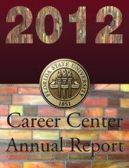 2012 Career Center Annual Report - The Career Center - Florida ...