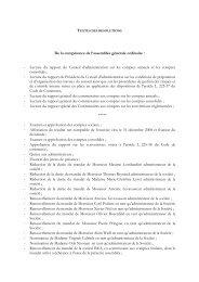 Textes des projets de résolutions - Iliad