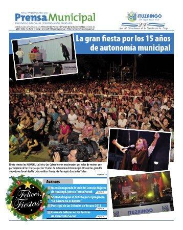 La gran fiestaporlos15años de autonomía municipal - Ituzaingó