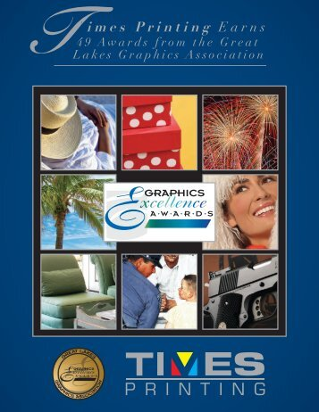 Award of Excellence - Times Printing Co Inc