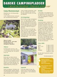 Blommenslyst Camping - Campisternes Rejseportal