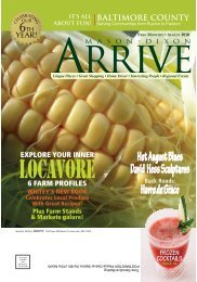 Locavore - Mason Dixon Arrive Magazine