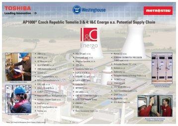AP1000® Czech Republic Temelín 3 & 4: I&C Energo a.s. ... - iHNed