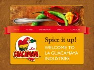 WelCOme TO lA GUACAmAYA INDUSTRIeS - Hecho en Mexico B2B