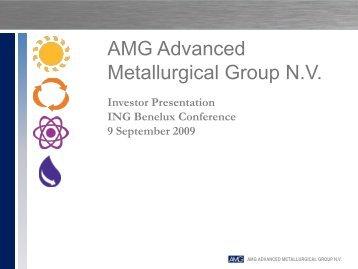 View this Presentation (PDF 1.24 MB) - AMG Advanced ...