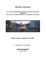 2008-2009 - Conseil international d'études canadiennes