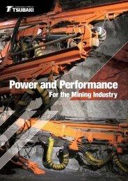 Tsubaki Power and Performance for the Mining ... - Tsubaki Europe