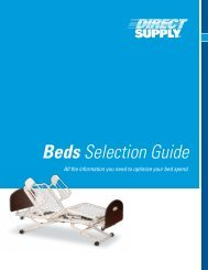 Beds Selection Guide.pdf - Direct Supply