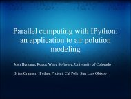 Parallel Computing with IPython: an application to air pollution ...