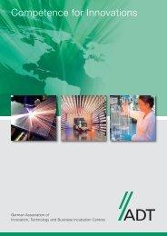 Competence for Innovations - und Gründerzentren e.v.