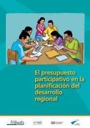El Presupuesto Participativo en la planificación del desarrollo regional