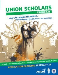 Download this brochure in PDF format - AFSCME
