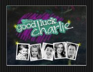 Good Luck Charlie Calendar 2014