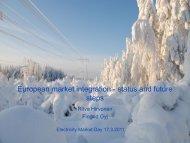 market coupling - Fingrid